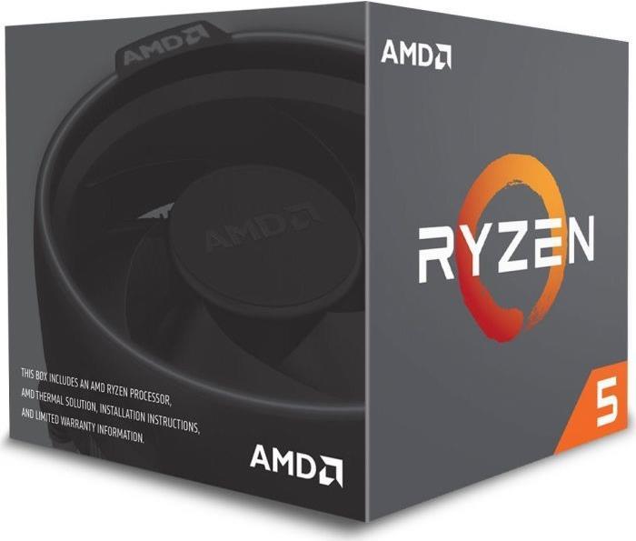 AMD Ryzen 5 2600 - 3.4 GHz - 6 Kerne - 12 Threads - 16 MB Cache-Speicher - Socket AM4 - Box