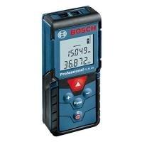 Bosch Professional GLM 40 Laser-Entfernungsmesser, 0,15 - 40 m Messbereich, 2x1,5 V LR03, AAA Batterien, Schutztasche, 0601072900