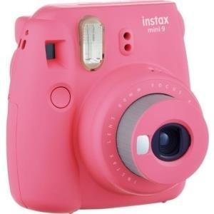 Sofortbildkameras - Fujifilm Instax Mini 9 Instant Kamera Objektiv 60 mm Flamingo Pink (16550538)  - Onlineshop JACOB Elektronik