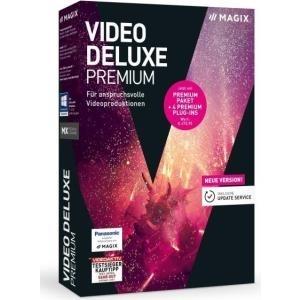Magix Video deluxe Premium Vollversion, 1 Lizenz Windows Videobearbeitung jetztbilligerkaufen