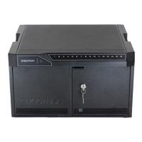 Ergotron Tablet Management Desktop 16 with ISI - Schrankeinheit für 16 Webtablets - Aluminium, Stahl, ABS-Kunststoff - Schwarz - Bildschirmgröße: 25,4 cm (bis zu 25,40cm (10)) (DM16-1004-2)