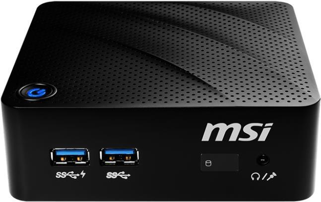 PC Systeme, Computer - MSI Cubi N 8GL 004 1,10 GHz Intel® Celeron® N4000 Schwarz Mini PC Mini PC (9S6 B17111 004)  - Onlineshop JACOB Elektronik