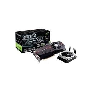 Grafikkarten - Inno3D iChiLL GeForce GTX 1070 X3 Black Series Grafikkarten GF GTX 1070 8 GB GDDR5 PCIe 3.0 x16 DVI, HDMI, 3 x DisplayPort  - Onlineshop JACOB Elektronik