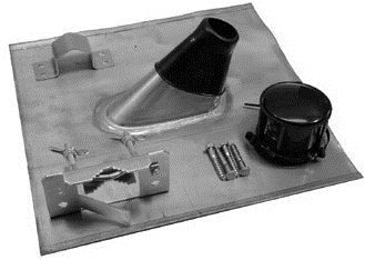 Mastzubehoer-Set 60mm blank MAZ 60 ZB (MAZ60ZB)