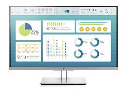 HP EliteDisplay E273 Monitor Europe - English localization - 1FH50AA#ABB
