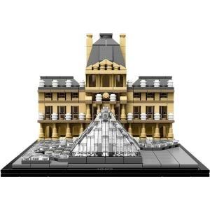 LEGO Louvre Architecture - 17 cm - 19 cm - 13 c...