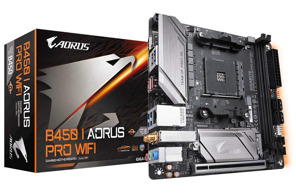 Gigabyte B450 I Aorus Pro WiFi - AMD B450-Mainboard - Sockel AM4 (B450 I AORUS PRO WIFI)