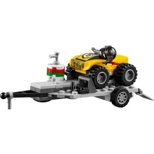 LEGO City Quad-Rennteam - Mehrfarben - 5 Jahr(e...