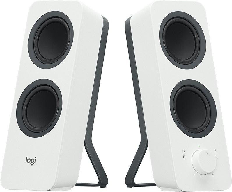 Logitech Z207 - Lautsprecher - für PC - 2.0-Kanal - kabellos - Bluetooth - 5 Watt (Gesamt) - weiß