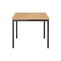 SODEMATUB Universaltisch 76RPB, 700 x 600, birnbaum/braun Arbeitsplatte: birnbaum, Gestell: braun, Höhe: 740 mm (76RPB)