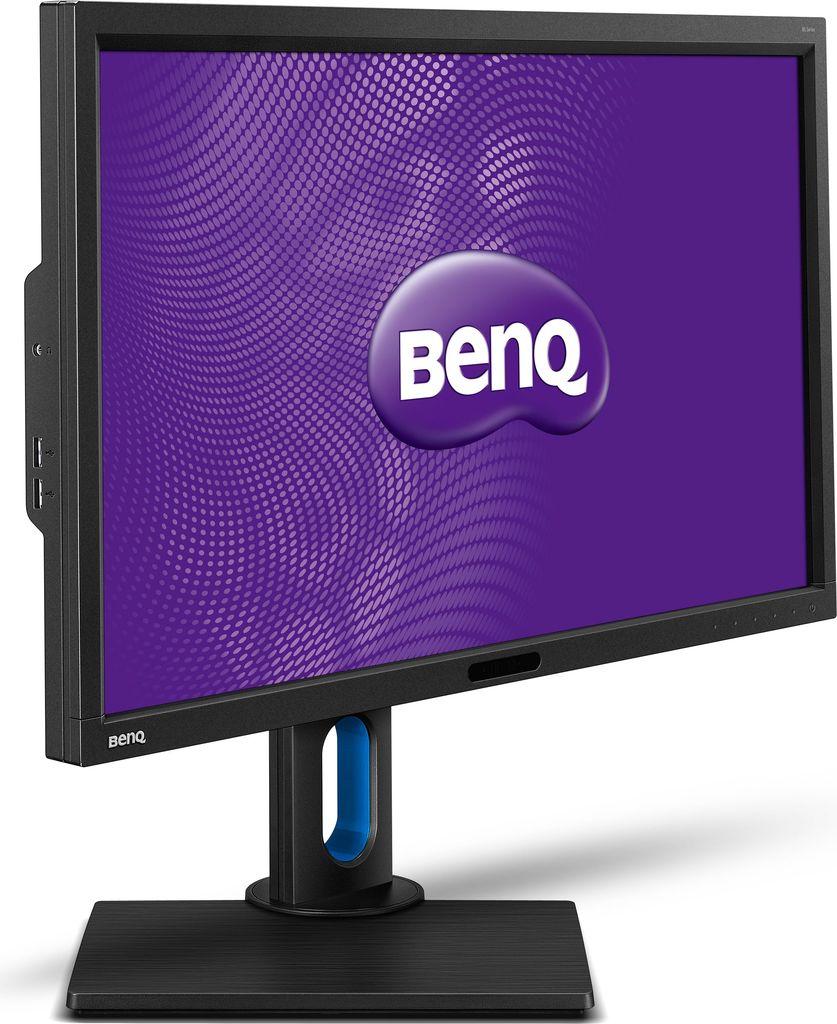 BenQ BL series BL2711U - LED-Monitor - 68,6 cm (27) - 3840 x 2160 - IPS - 300 cd/m2 - 1000:1 - 20000000:1 (dynamisch) - 4 ms - 2xHDMI, DVI-D, DisplayPort - Lautsprecher - Schwarz, Matte (9H.LD2LB.QBE)