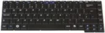 Samsung - Ersatztastatur Notebook - Deutsch - Schwarz (BA59-02255H)