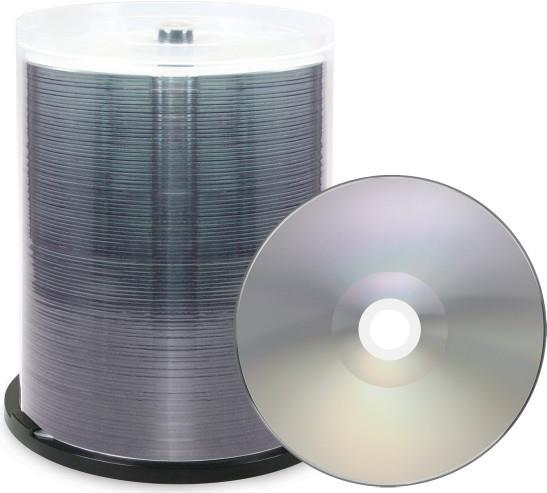 XLayer DVD-R 4.7GB XLayerPro 16x Thermo silver Full Surface Full Metalized 100er Cakebox (RDVMST100)
