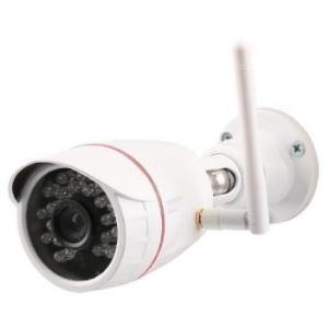 Sicherheit - OLYMPIA OC 1280P Netzwerk Überwachungskamera schwenken neigen Außenbereich wetterfest Farbe (Tag Nacht) 1280 x 720 feste Brennweite Audio drahtlos Wi Fi LAN 10 100 H.264 (5929)  - Onlineshop JACOB Elektronik