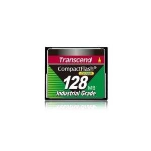 Speicherkarten, Speichermedien - Transcend CF200I Industrial Grade Flash Speicherkarte 128MB CompactFlash (TS128MCF200I)  - Onlineshop JACOB Elektronik