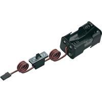 MODELCRAFT Batteriebox mit Schalter, JR Mit Sch...