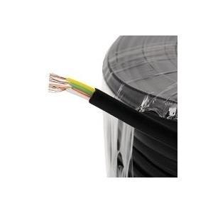 Helos Anschlusskabel 4-adrig, schwarz, 50 m Flachkabel Telefonkabel, m, AWG28 (014864) jetztbilligerkaufen