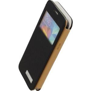 COMMANDER WINDOW Cross Black für Samsung G800 Galaxy S5 Mini (14374) - broschei