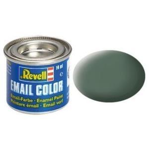 Revell Grüngrau - matt RAL 7009 14 ml-Dose Farbe Grau Kunstharz Emaillelackierung Zinn (32167)