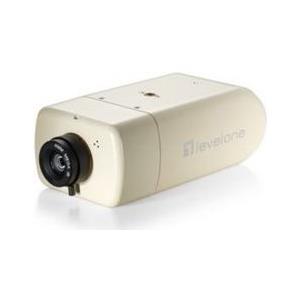 Netzwerktechnik - LevelOne FCS 1131 Netzwerk Überwachungskamera Farbe (Tag Nacht) 2 MP 1920 x 1080 CS Halterung Automatische Irisblende feste Brennweite Audio LAN 10 100 MJPEG, H.264 Gleichstrom 12 V PoE  - Onlineshop JACOB Elektronik