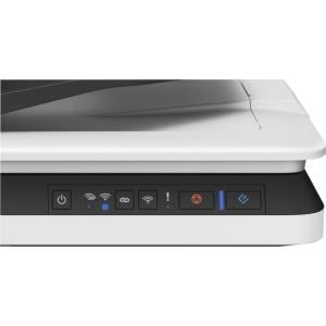 Epson WorkForce DS-1660W - Dokumentenscanner - Duplex - A4 - 1200 dpi x 1200 dpi - bis zu 25 Seiten/Min. (einfarbig) / bis zu 25 Seiten/Min. (Farbe) - automatischer Dokumenteneinzug (50 Blätter) - bis zu 1500 Scanvorgänge/Tag - USB 3.0, Wi-Fi(n)