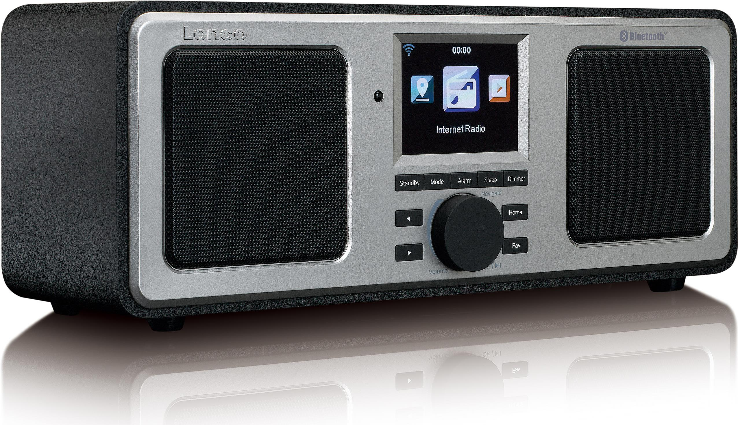 Lenco DIR-150 Internet Digital Schwarz Radio (D...