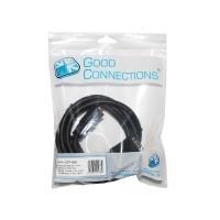 Anschlusskabel DVI-I 18+5 Stecker an 15pol VGA Stecker, schwarz, 3m, Good Connections im POLYBAG (GCT-1239) jetztbilligerkaufen