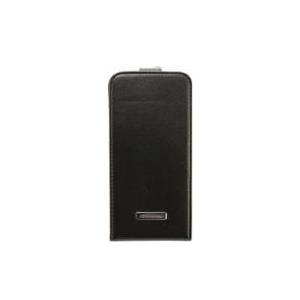 PETER JÄCKEL COMMANDER PREMIUM DeLuxe Flip Case Leder schwarz fuer Apple iPhone 6 (14359) - broschei