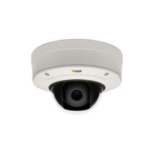 AXIS Q3505-V Network Camera - Netzwerk-Überwachungskamera - Kuppel - staubdicht/wasserdicht/vandalismusresistent - Farbe (Tag&Nacht) - 2,3 MP - 1920 x 1080 - Automatische Irisblende - verschiedene Brennweiten - Audio - 10/100 - MPEG-4, MJPEG, H.264 - PoE