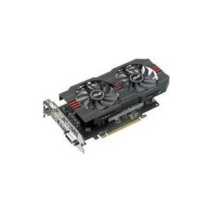 ASUS RX560-O4G - OC Edition - Grafikkarten - Radeon RX 560 - 4GB GDDR5 - PCIe 3.0 - DVI, HDMI, DisplayPort (90YV0AH4-M0NA00)