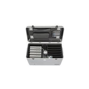 PARAT PARAPROJECT N10 - Wagen (nur Laden) für 10 Notebooks - verriegelbar - Aluminium, ABS-Kunststoff - Silber - Bildsch