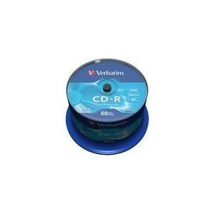 Verbatim - 50 x CD-R - 700MB (80 Min) 52x - Spi...