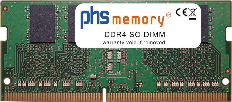 PHS-memory 4GB RAM Speicher für Acer Aspire 3 A315-51-5493 DDR4 SO DIMM 2400MHz (SP259627)