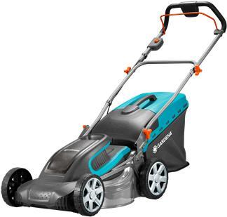 Gartengeräte - Gardena 5041 20 Schubrasenmäher Batterie Akku Schwarz Blau (05041 20)  - Onlineshop JACOB Elektronik