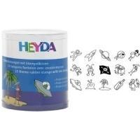 HEYDA Motivstempel-Set Piraten & Raumfahrer, Ru...