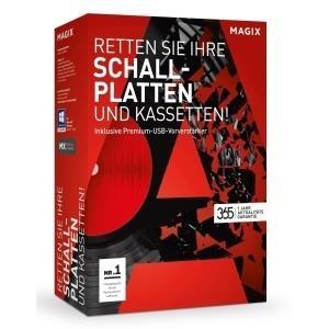 Magix Retten Sie Ihre Schallplatten und Kassetten! Vollversion, 1 Lizenz Windows Musik-Software jetztbilligerkaufen