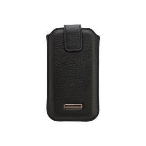 PETER JÄCKEL COMMANDER ROMA XXL5.0 Leder schwarz z.B. fuer Samsung i9505 Galaxy S4/ Apple iPhone 6 (14543) jetztbilligerkaufen