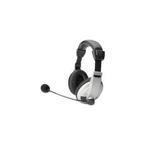 ednet 83130 Stereo Multimedia Head-Set mit Mikr...