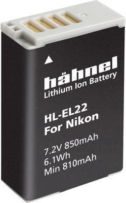 Hähnel HL-EL22 - Batterie - Li-Ion - 850 mAh - für Nikon 1 J4, S2
