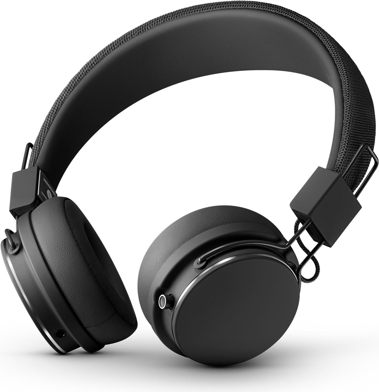 Audiozubehör - Urbanears Plattan 2 Bluetooth Black Bluetooth On Ear Kopfhörer (30 Stunden Akkulaufzeit, Faltbar, Eingebautes Mikrofon) (04092110)  - Onlineshop JACOB Elektronik