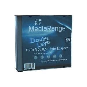 MediaRange - 5 x DVD+R DL - 8,5GB 8x - Speichermedium (MR465)