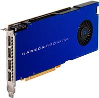 AMD Radeon Pro WX 7100 - Grafikkarten - Radeon Pro WX 7100 - 8 GB - PCIe 3.0 x16 - 4 x DisplayPort - für Celsius M770, M770power, R970, R970power, W570power+ (S26361-F3300-L711)