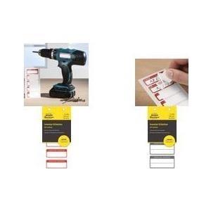 AVERY Zweckform Inventar-Etiketten mit Laminat,...