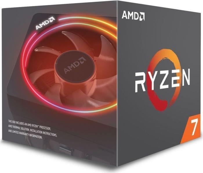 AMD Ryzen 7 2700X - 4,35 GHz - 8 Kerne - 16 Threads - 20MB Cache-Speicher - Socket AM4 - Box (YD270XBGAFBOX)
