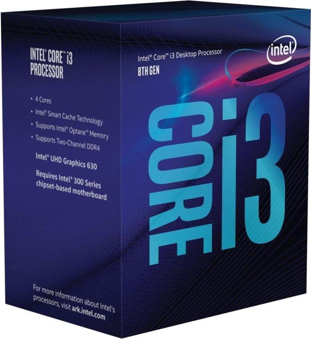 Intel Core i3 8300 - 3.7 GHz - 4 Kerne - 4 Thre...