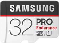 Speicherkarten, Speichermedien - Samsung PRO Endurance MB MJ32GA Flash Speicherkarte (microSDHC SD Adapter inbegriffen) 32 GB UHS I U1 Class10 microSDHC UHS I  - Onlineshop JACOB Elektronik