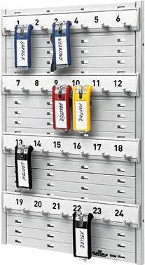 DURABLE Schlüsselbrett KEY BOARD 24 Kunststoff 212 x... für: 24 Schlüssel