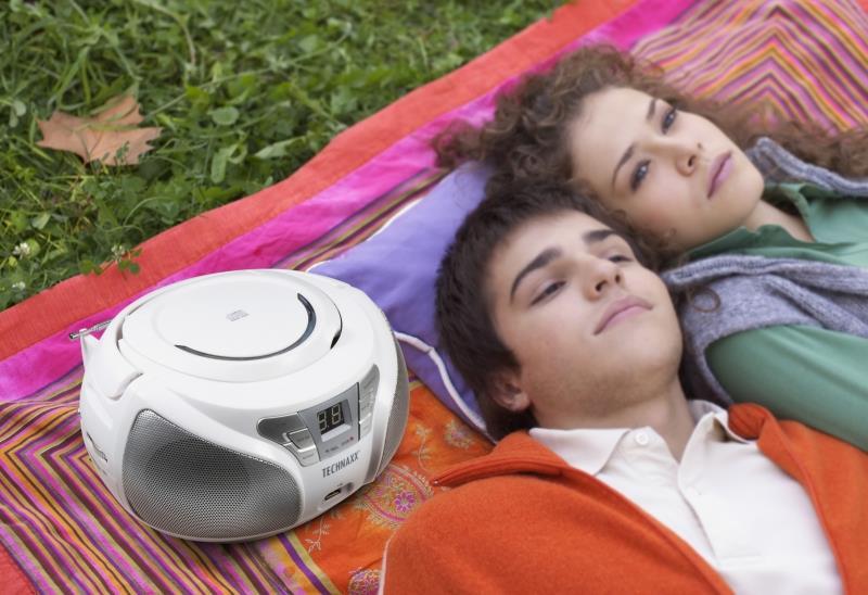 CD, MP3 Player - Technaxx BT X38 Portable CD player Weiß (4765)  - Onlineshop JACOB Elektronik