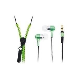 Kopfhoerer LogiLink In-Ear inkl. Mikrofon und FB grün (HS0023)