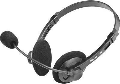 Trust PC-Headset 3.5 mm Klinke schnurgebunden, ...
